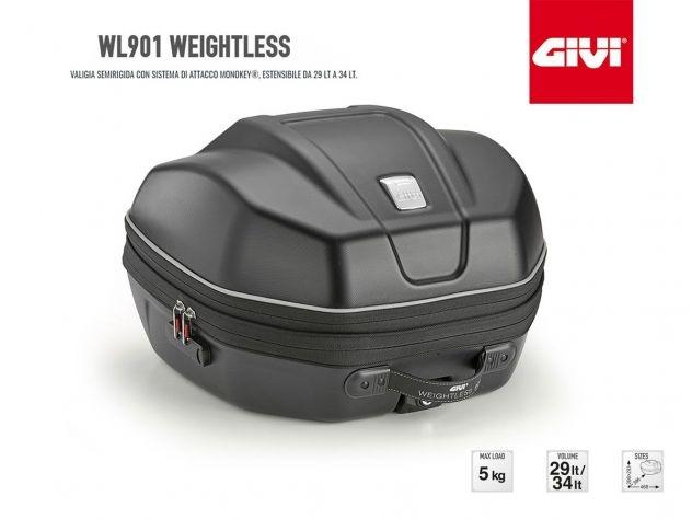 WL901 GIVI MOTORCYCLE TOP CASE...