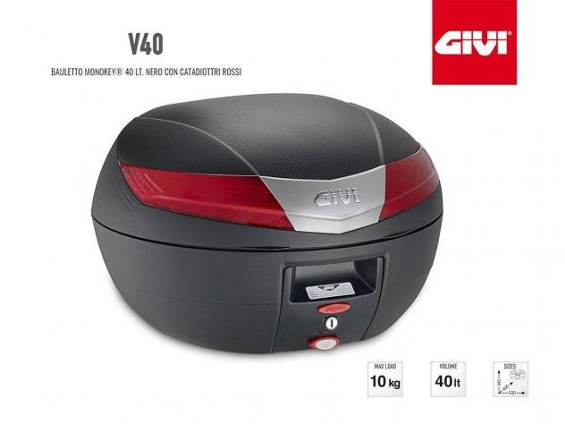 V40N GIVI MOTORCYCLE TOP CASE MONOKEY...