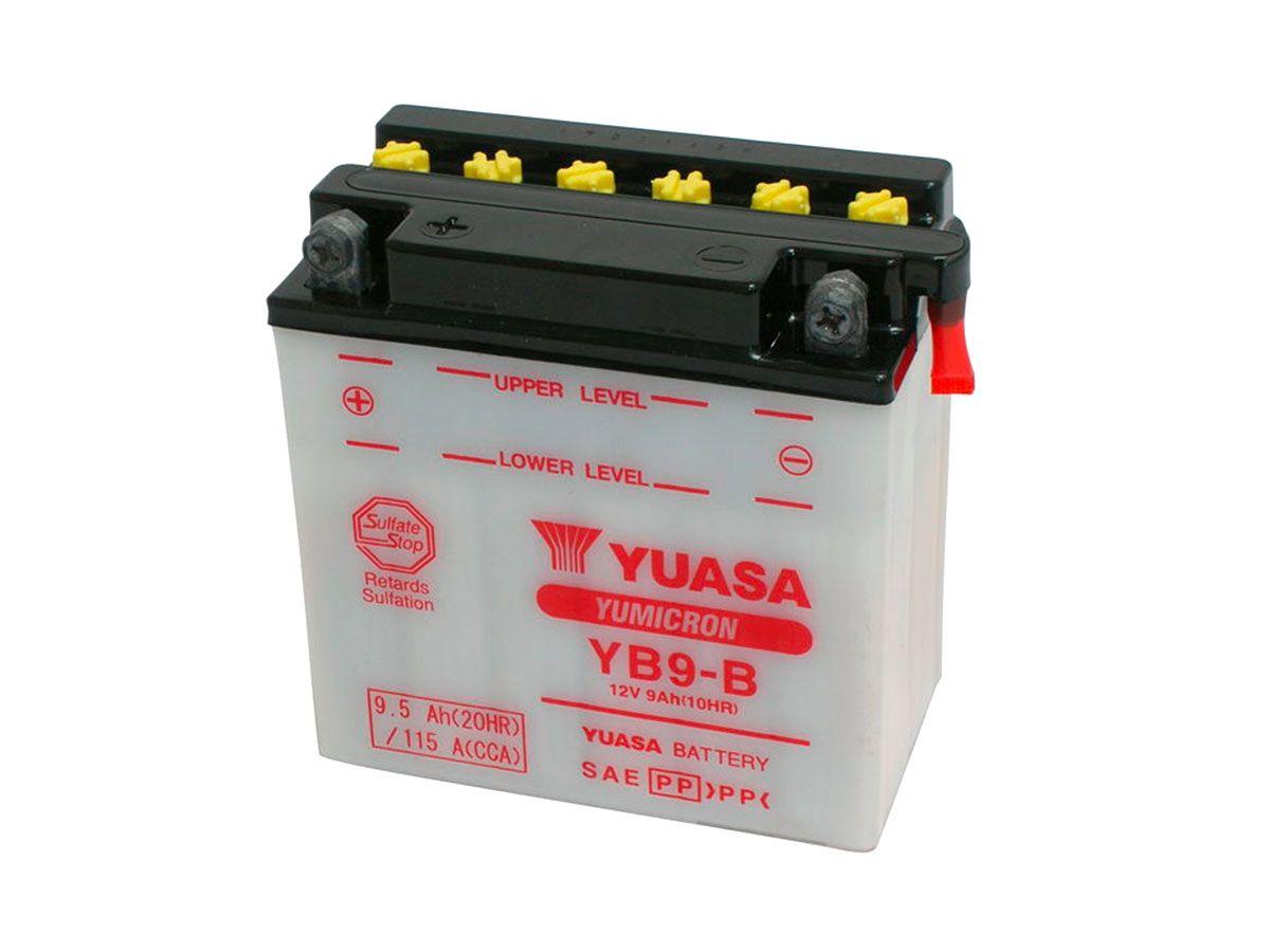 YUASA STANDARD ACID BATTERY 135x75x139 MM