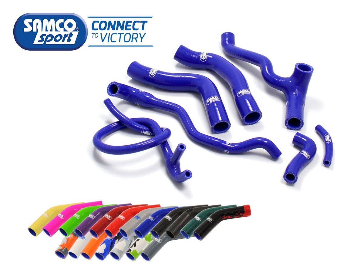 KIT TUBI RADIATORE SPORT SAMCO KTM OEM DESIGN 350 SX-F / XC-F 2019-2020